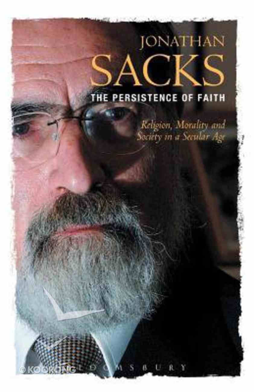 The Persistence of Faith Paperback