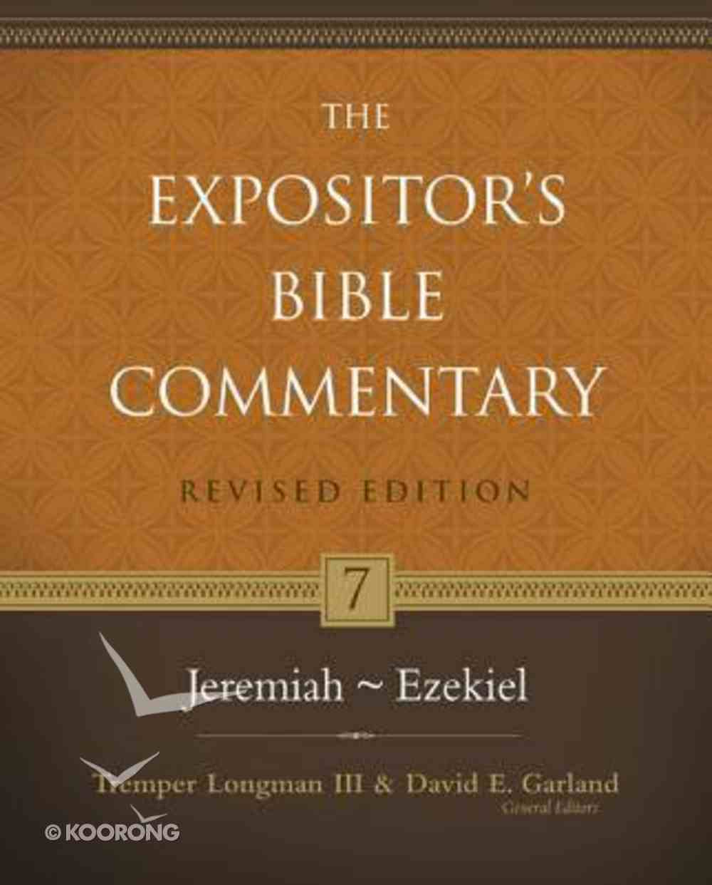 Jeremiah-Ezekiel (#07 in Expositor's Bible Commentary Revised Series) Hardback
