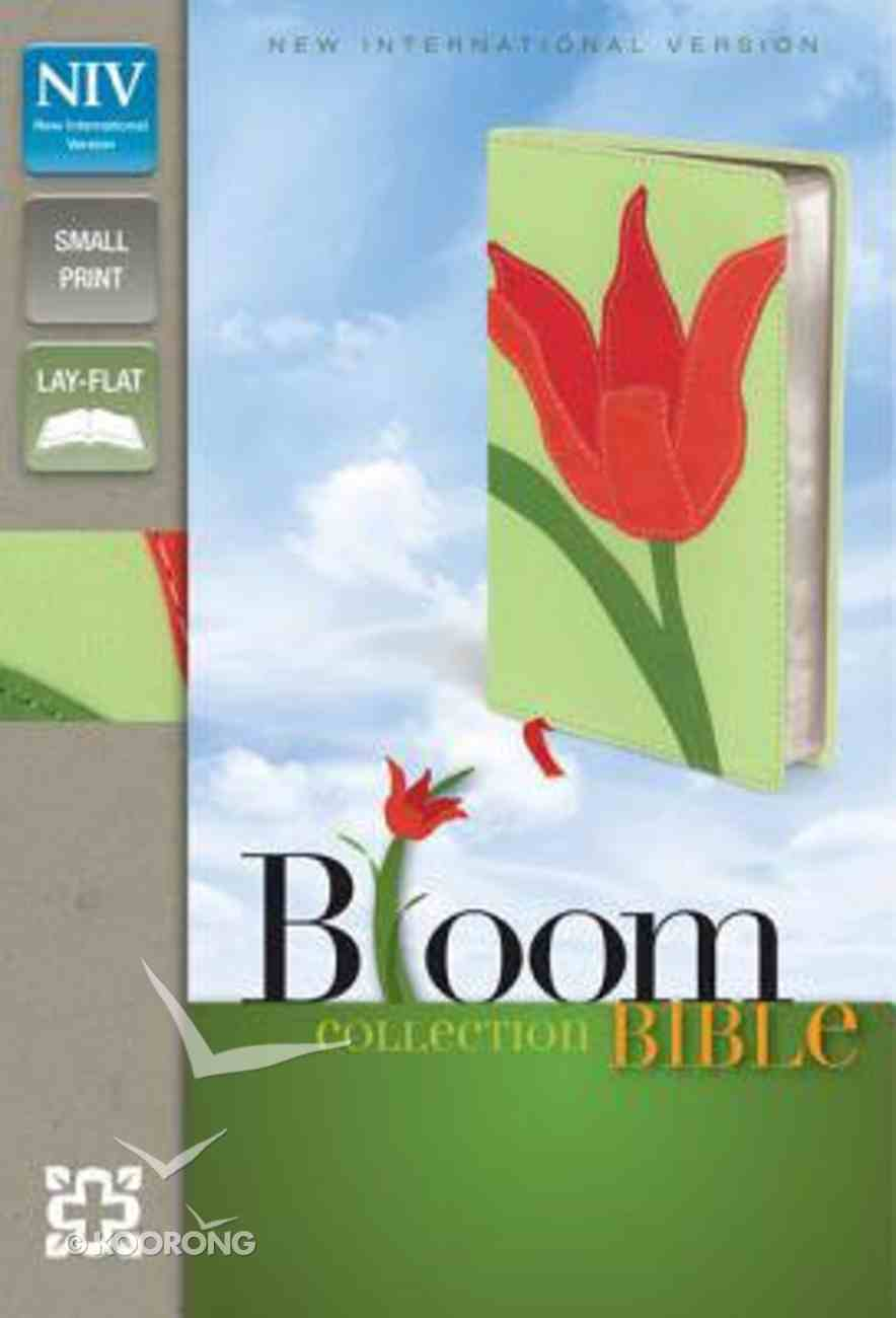 NIV Compact Thinline Bloom Bible Red Tulip Duo-Tone (Red Letter Edition) Imitation Leather