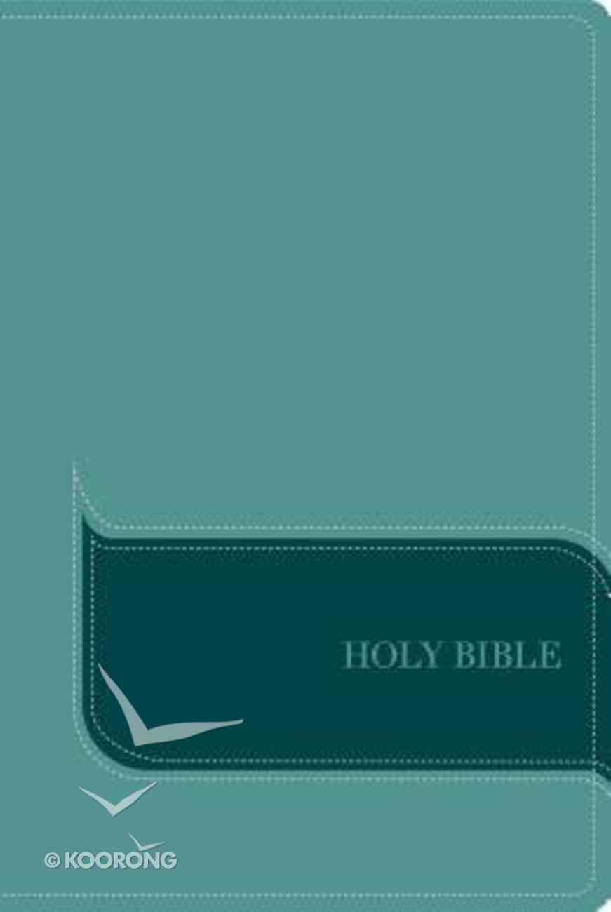 NIV Understand the Faith Study Bible Turquoise Premium Imitation Leather