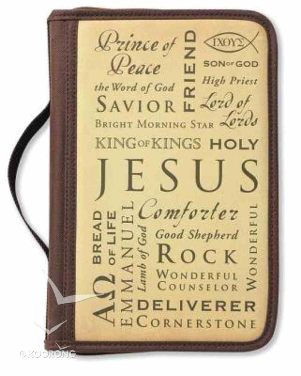 Bible Cover Inspiration Names of Jesus Large Bible Cover