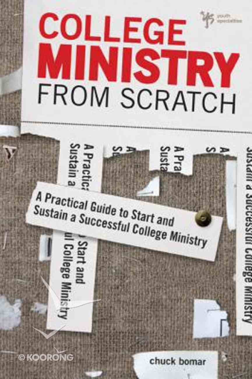 College Ministry From Scratch Paperback