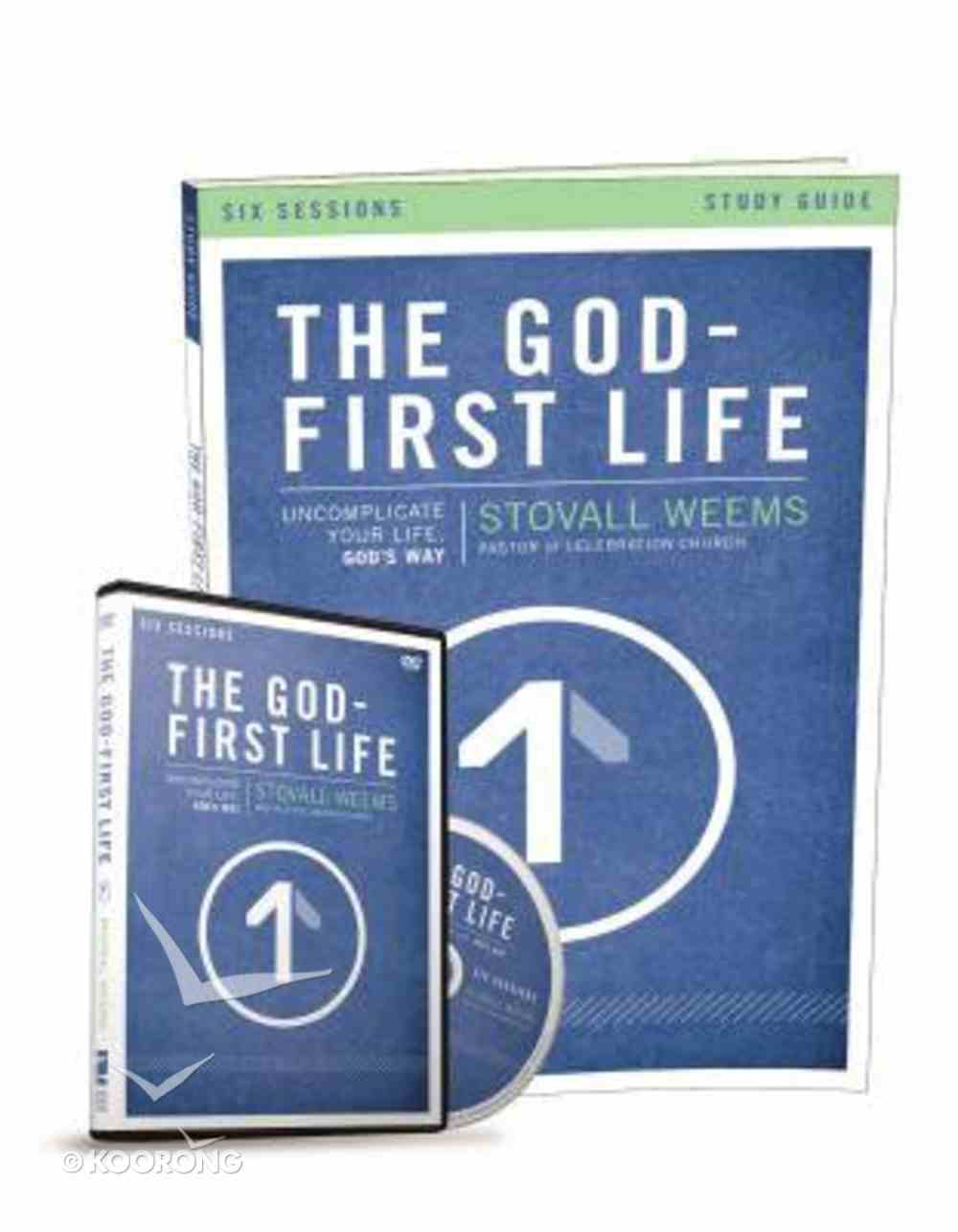 The God-First Life (Study Guide With Dvd) Pack