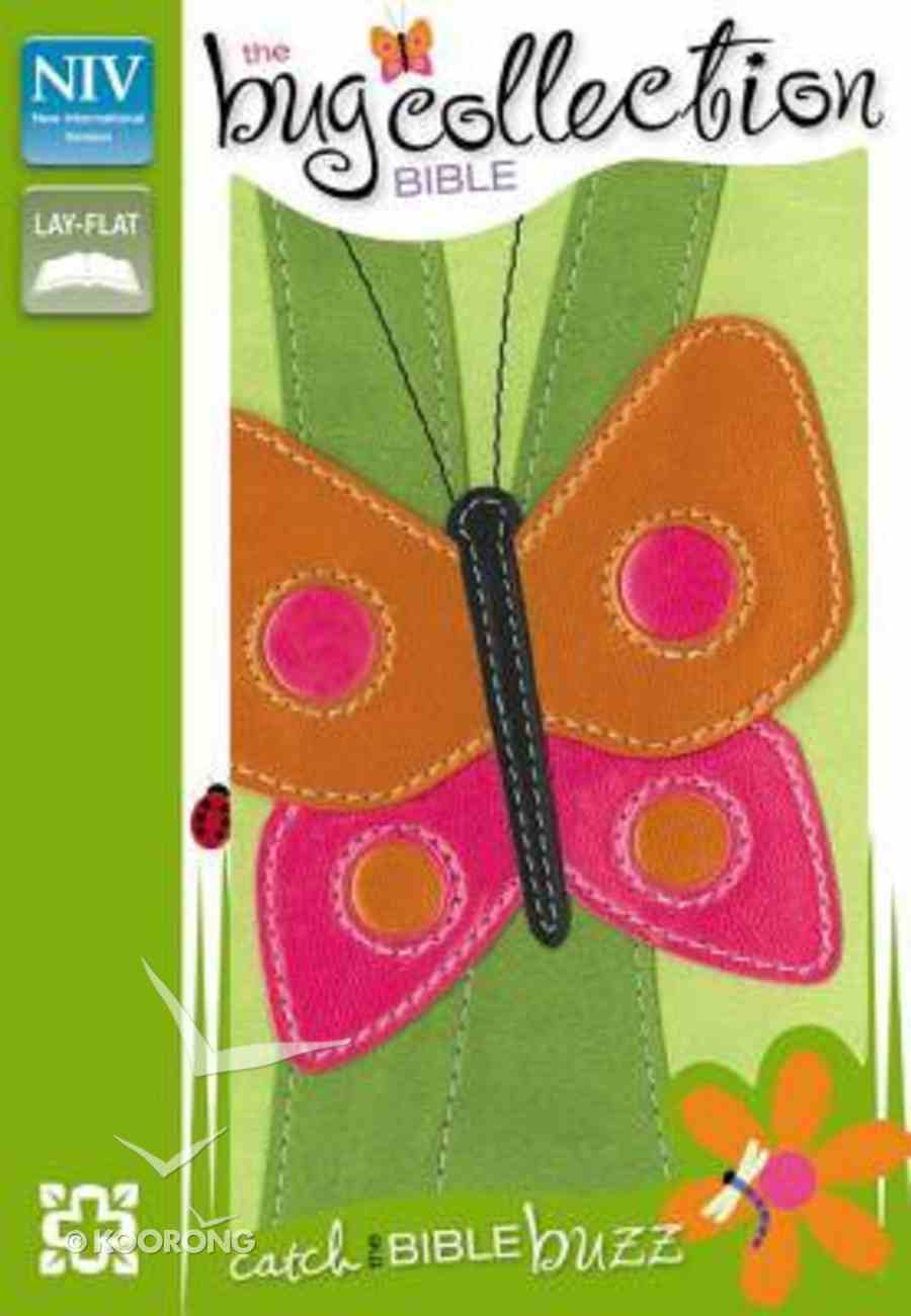 NIV Compact Thinline Bug Collection Bible Butterfly (Red Letter Edition) Imitation Leather