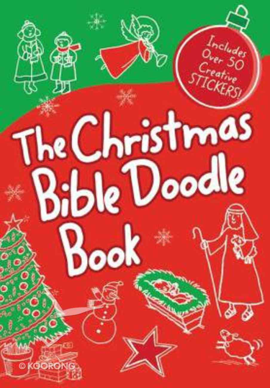 The Christmas Bible Doodle Book Paperback