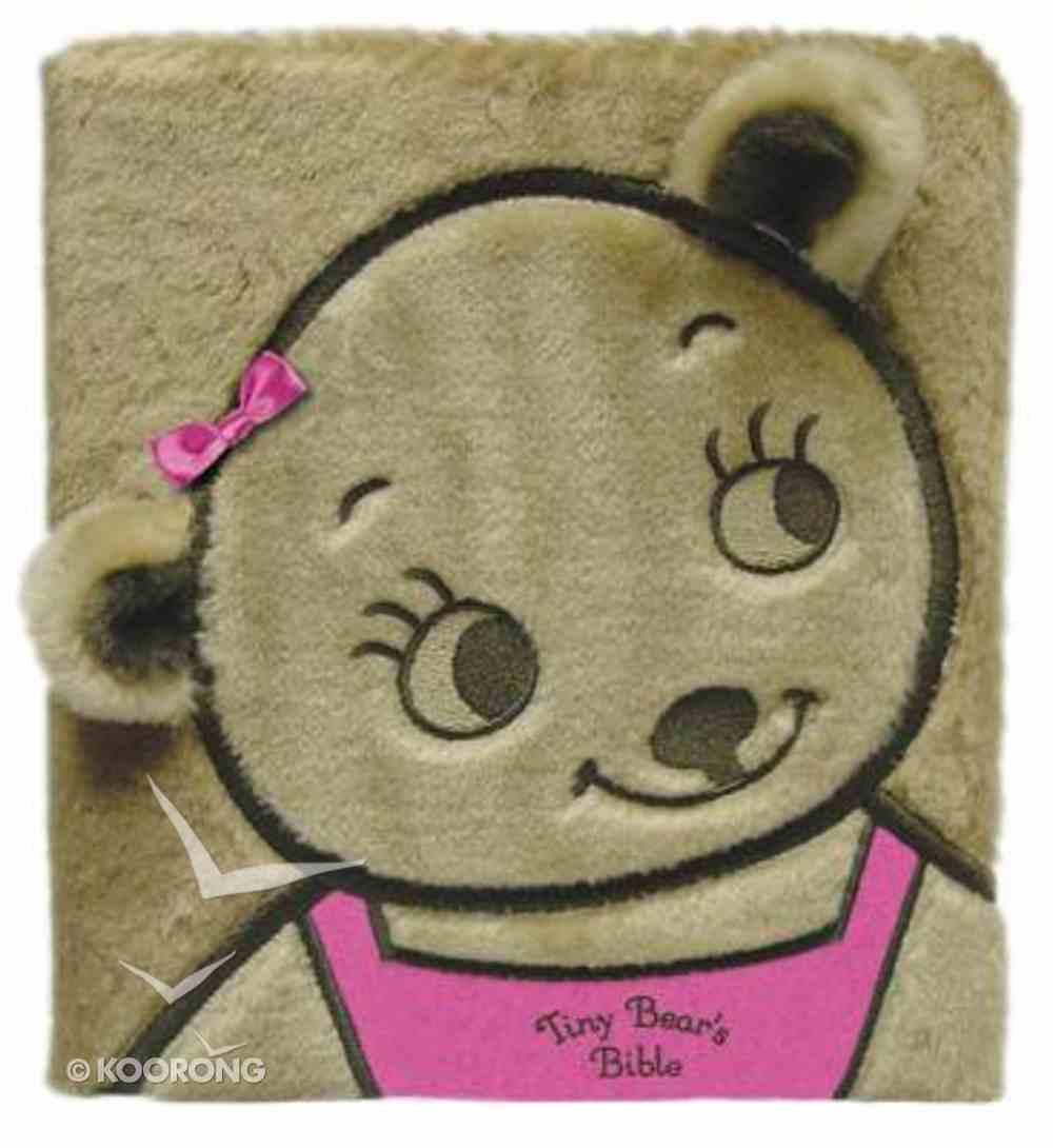 Tiny Bear's Bible Faux Fur (Pink) Board Book