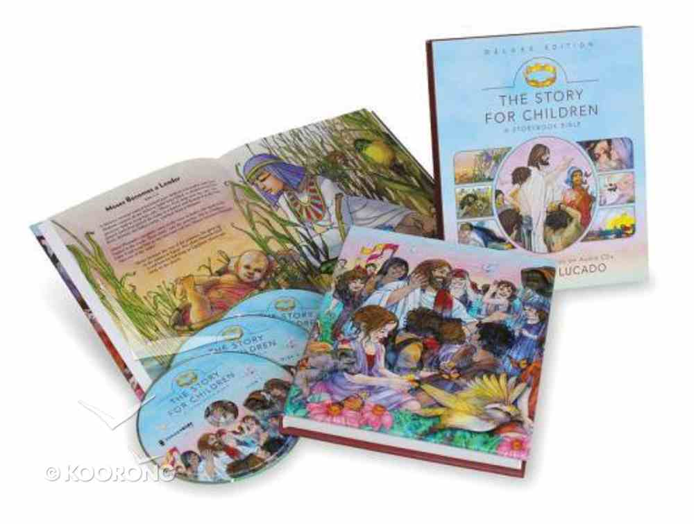 Story For Children, the Deluxe Edition (Storybook Bible) Hardback