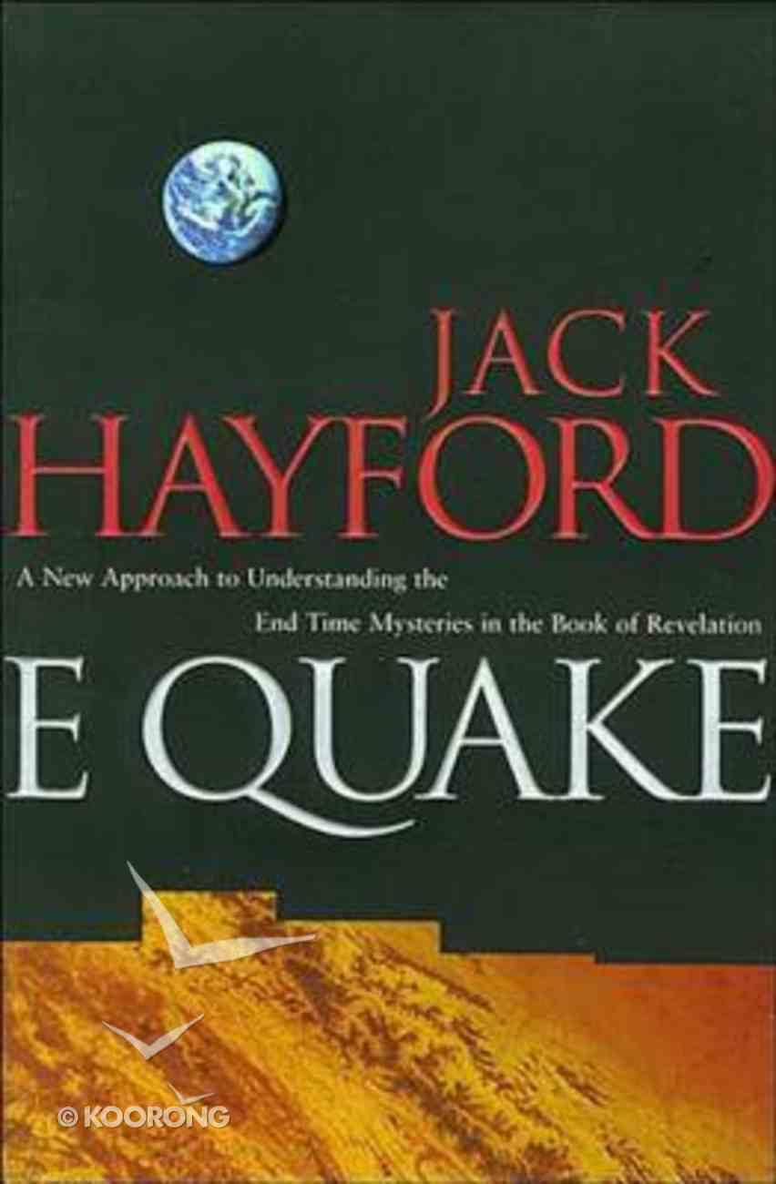 E-Quake Paperback