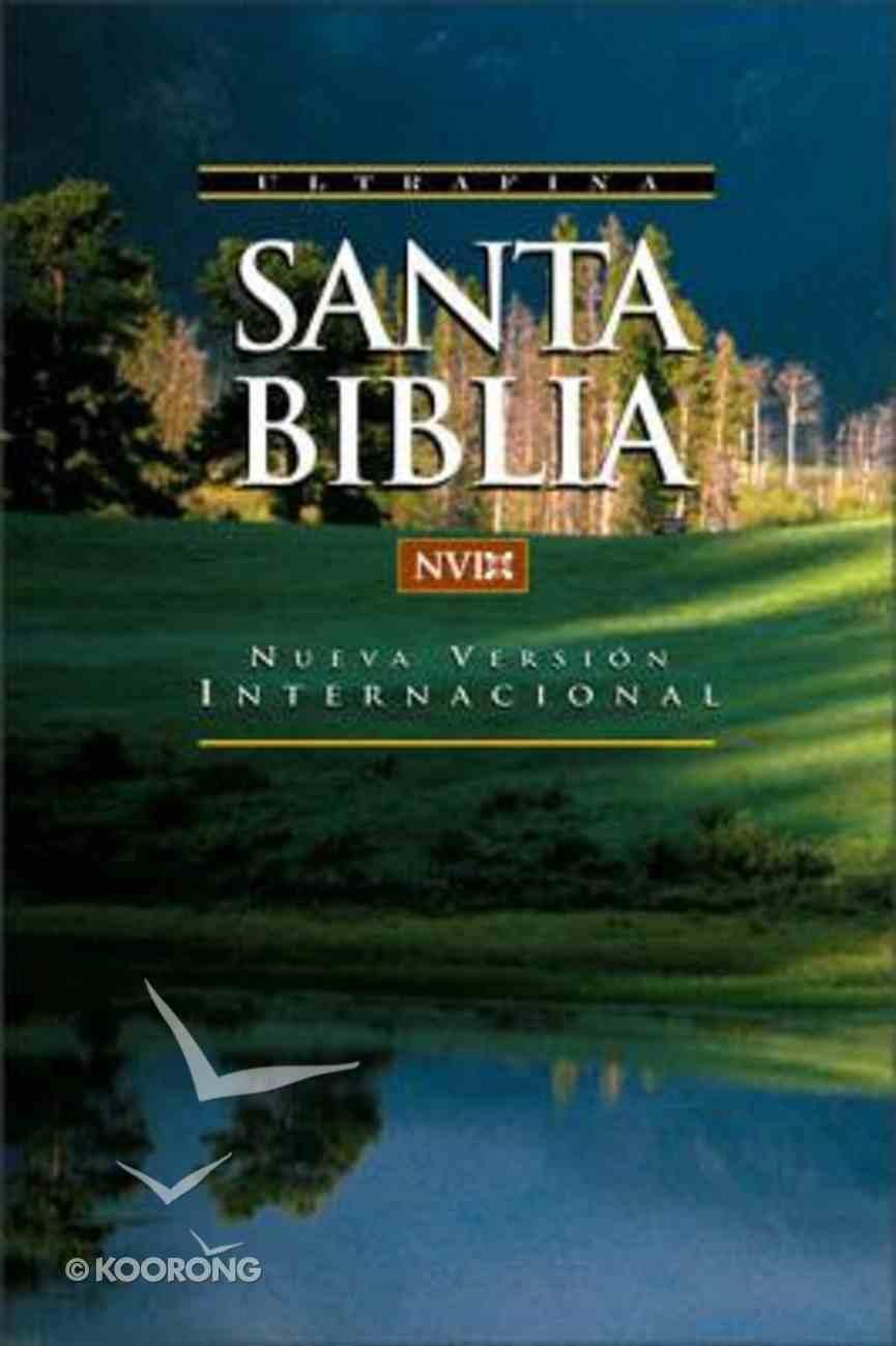 Biblia Nueva Version Internacional Nvi (Red Letter Edition) (Spanish Nvi Bible) Paperback