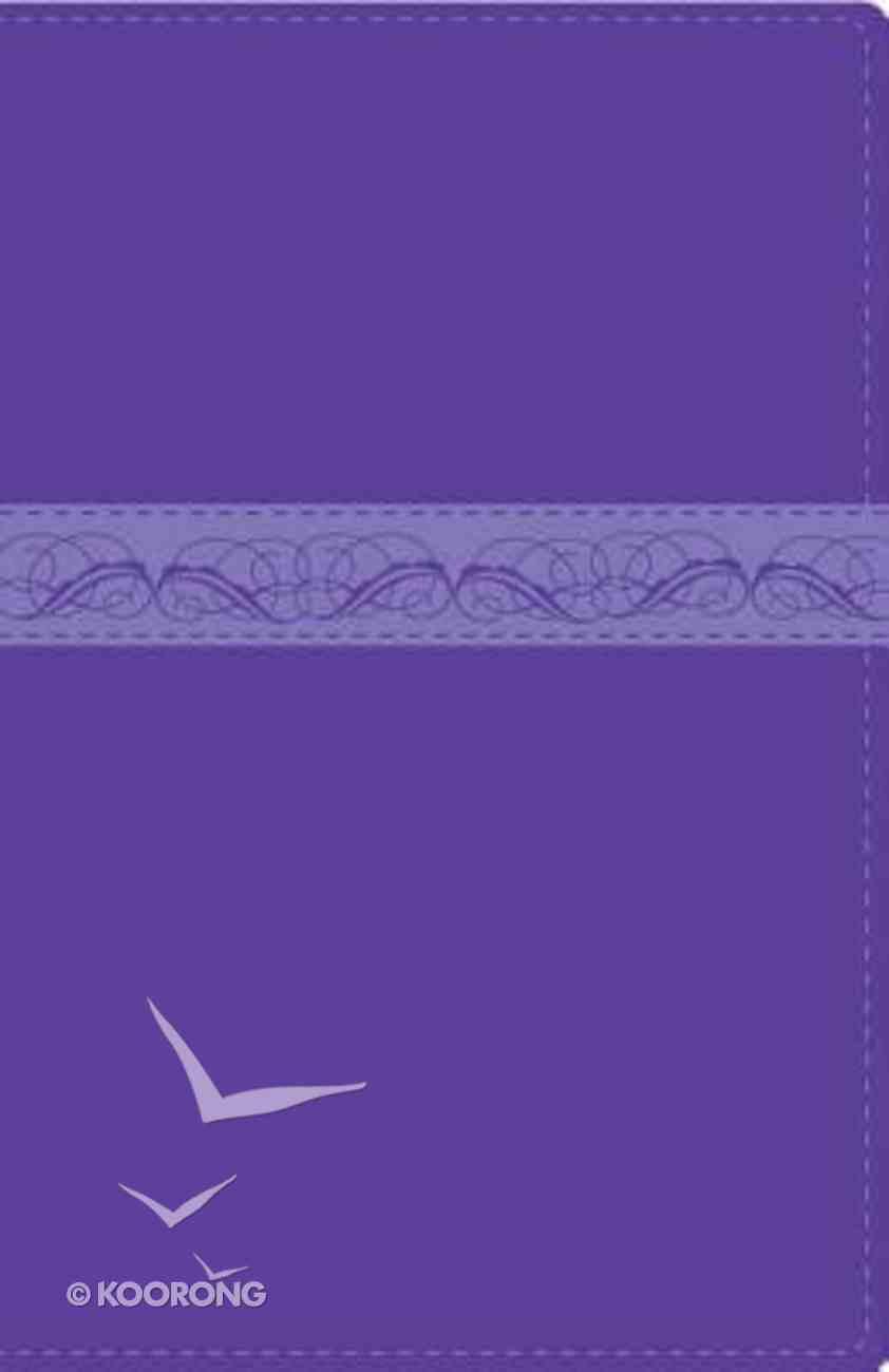 Rvr1960 Biblia Devocional Para La Mujer Lilac/ Purple (Woman's Devotional Bible) Imitation Leather