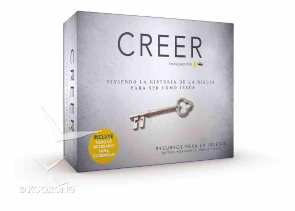 Creer (Believe Church Resource Kit) (Recursos Para La Iglesia) (Believe (Zondervan) Series) Pack