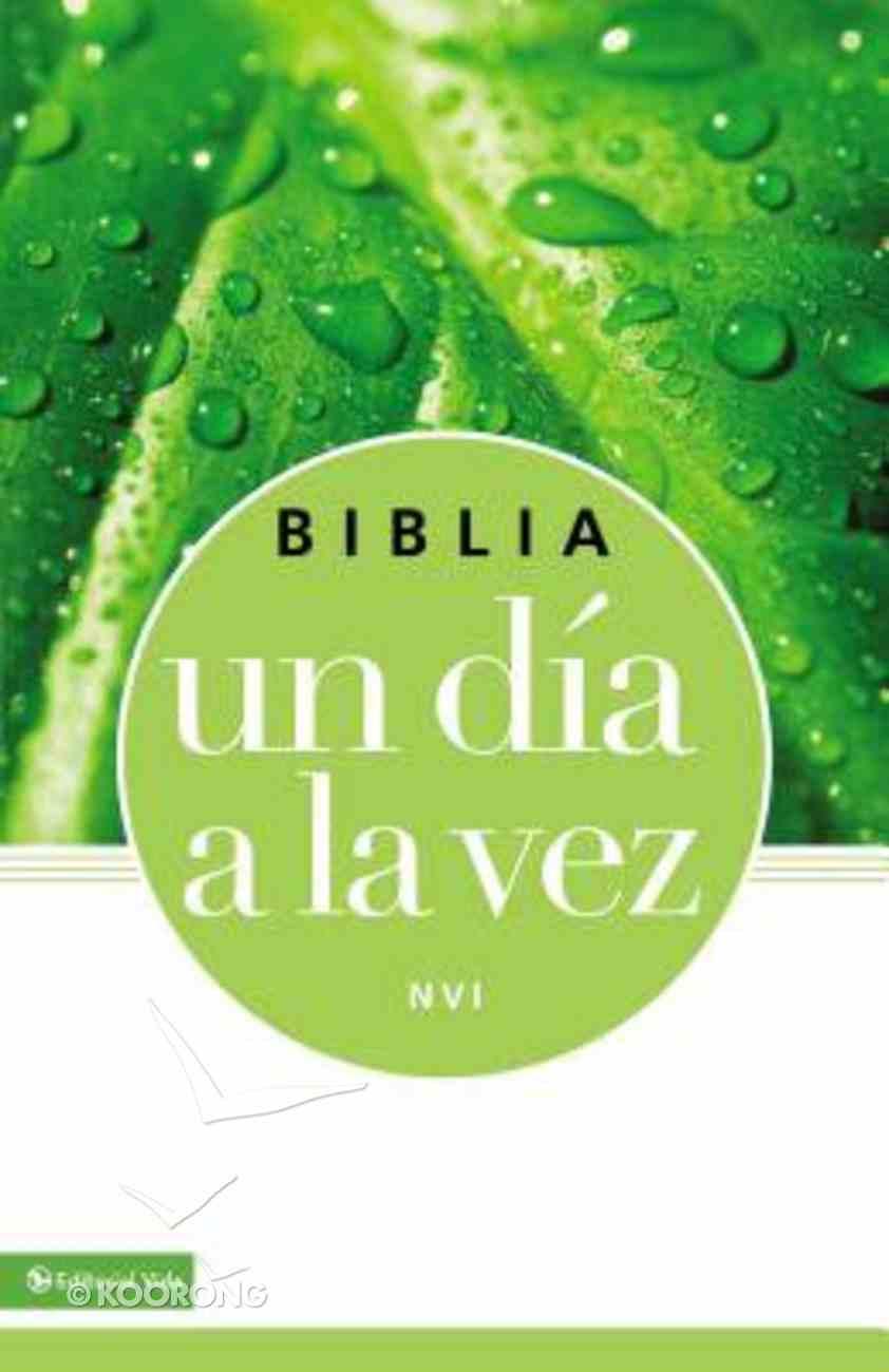 Nvi Biblia Un Da a La Vez (Once-a-day Bible) Imitation Leather