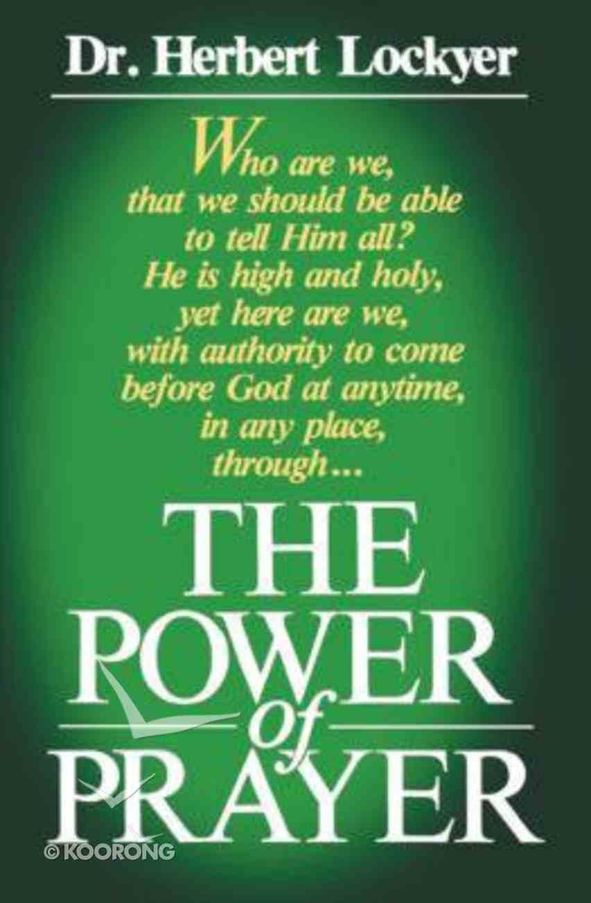 Power of Prayer Paperback