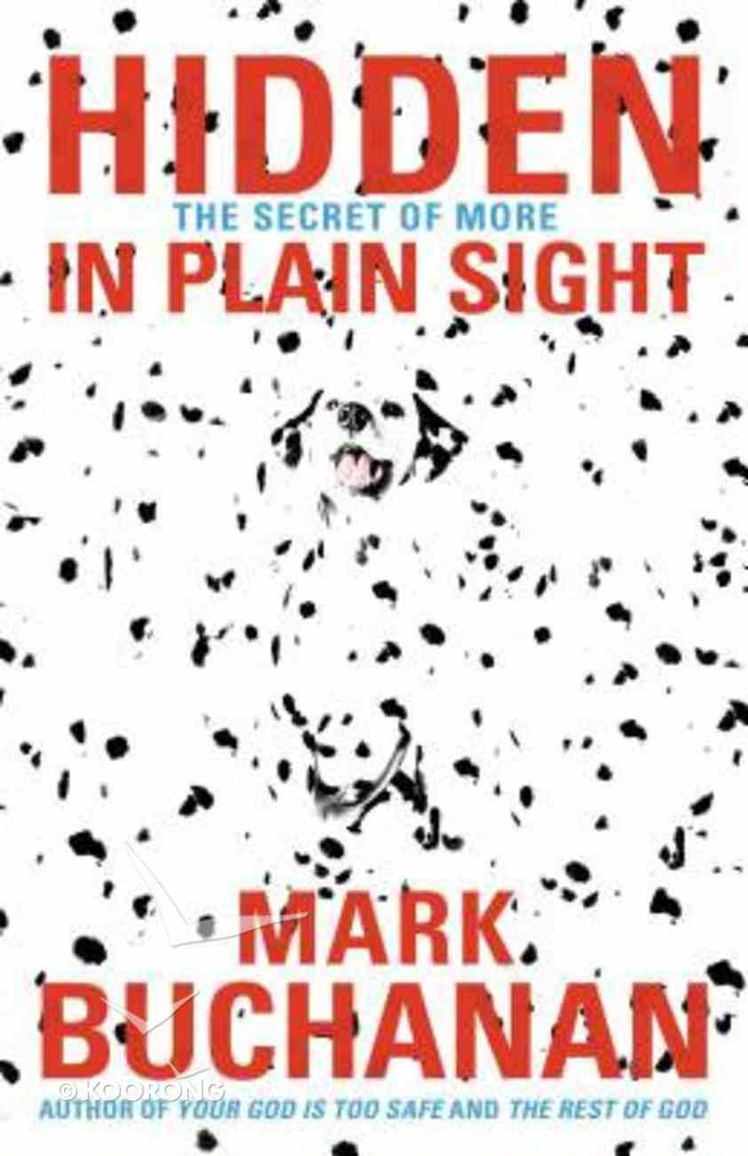 Hidden in Plain Sight Paperback