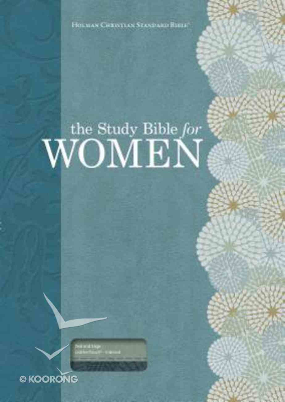 HCSB Study Bible For Women Personal Size Indexed Teal/Sage Imitation Leather