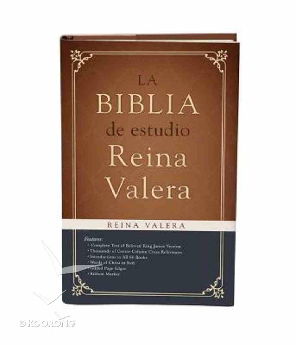 Biblia De Estudio Reina Valera, La Hardback