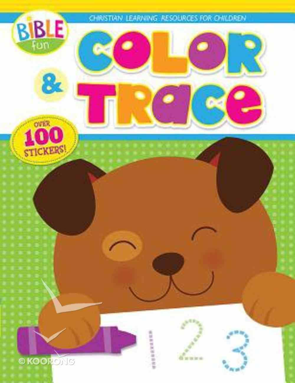 Bible Fun: Color & Trace Paperback