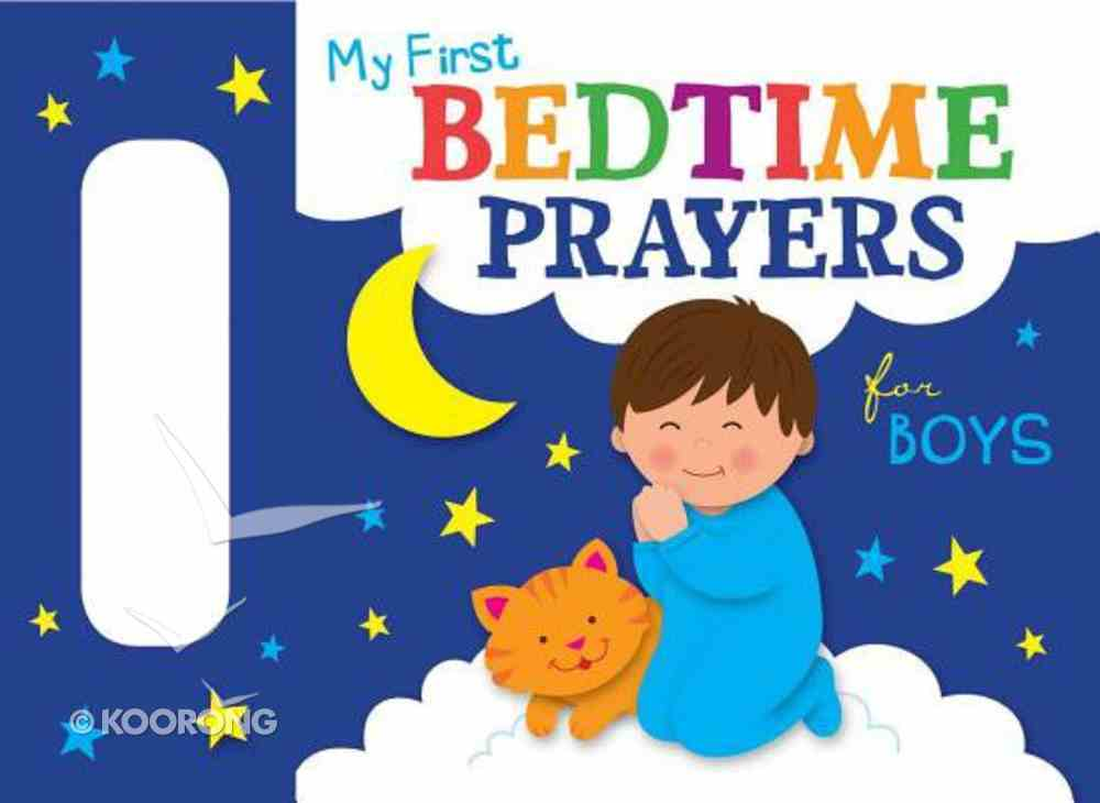 My First Bedtime Prayers For Boys Board Book