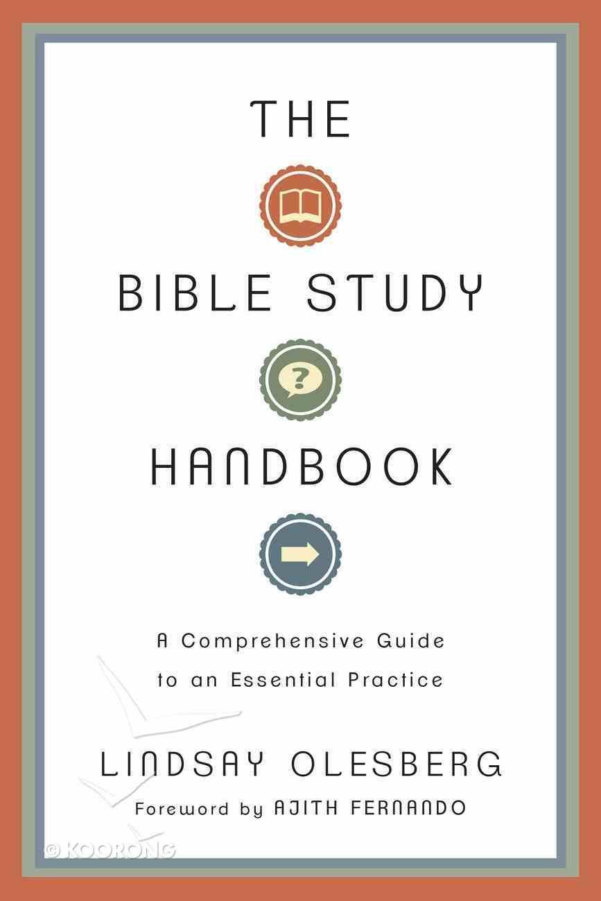 The Bible Study Handbook Paperback