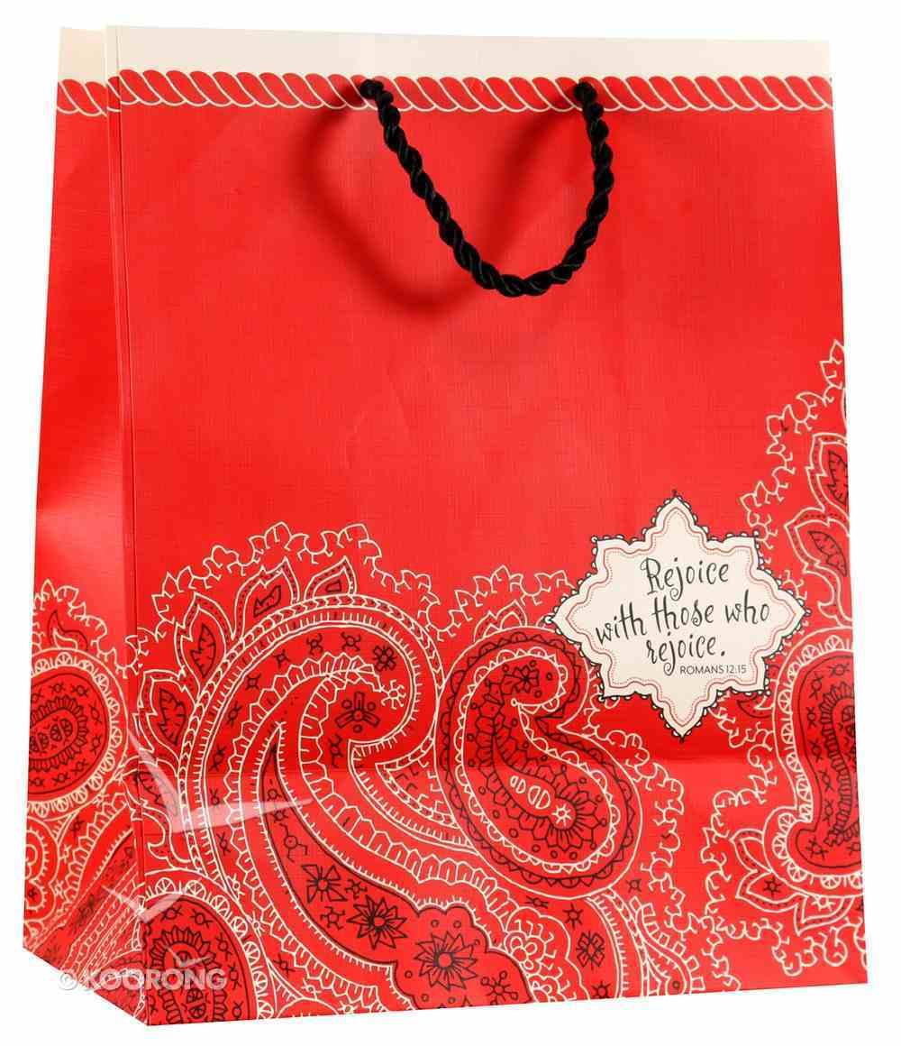 Gift Bag Medium: Bandana (Incl Tissue Paper & Gift Tag) Stationery