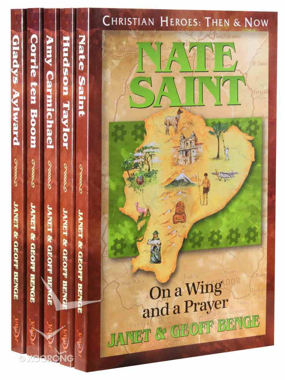 Gift Set 01-05 (Christian Heroes Then & Now Series) Pack