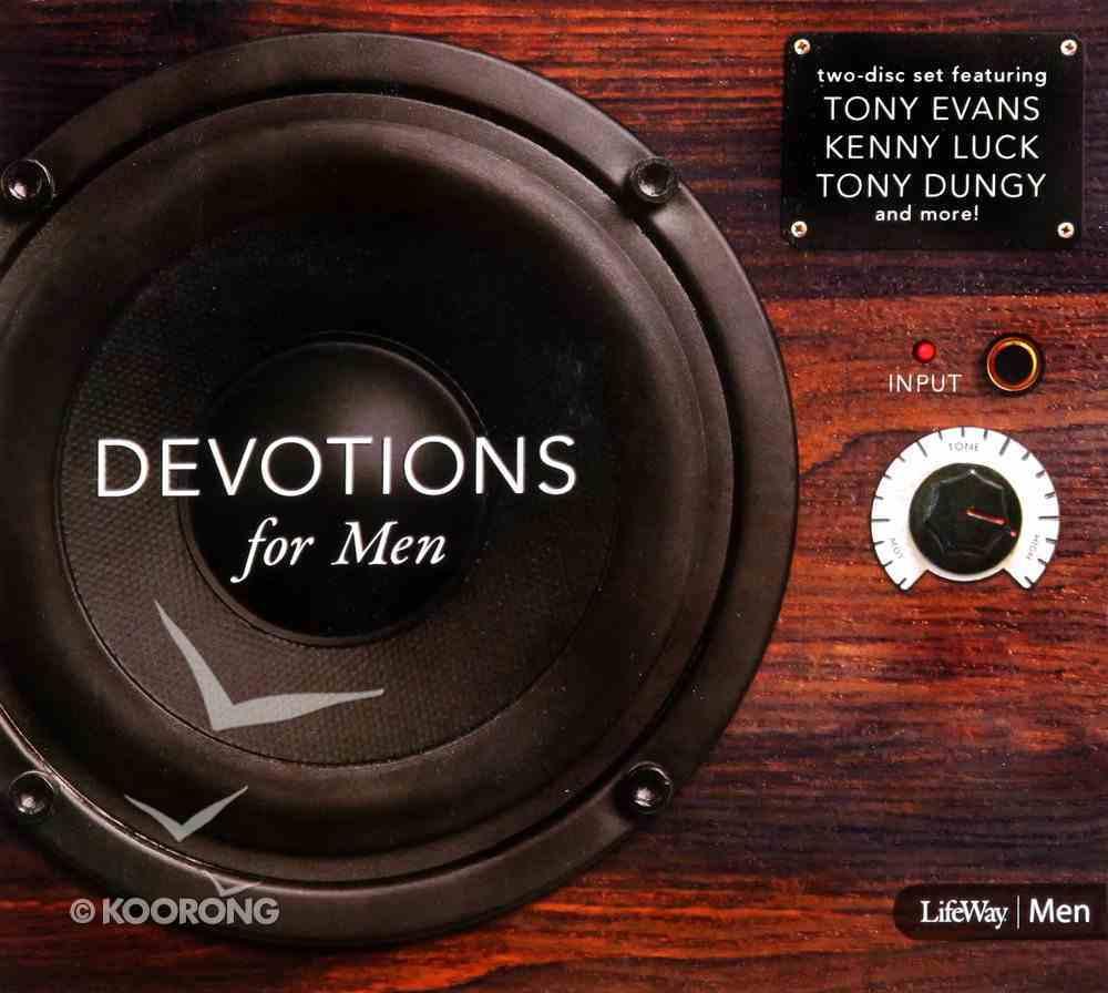 Mens Drive Time: Devotions For Men (120 Mins) CD