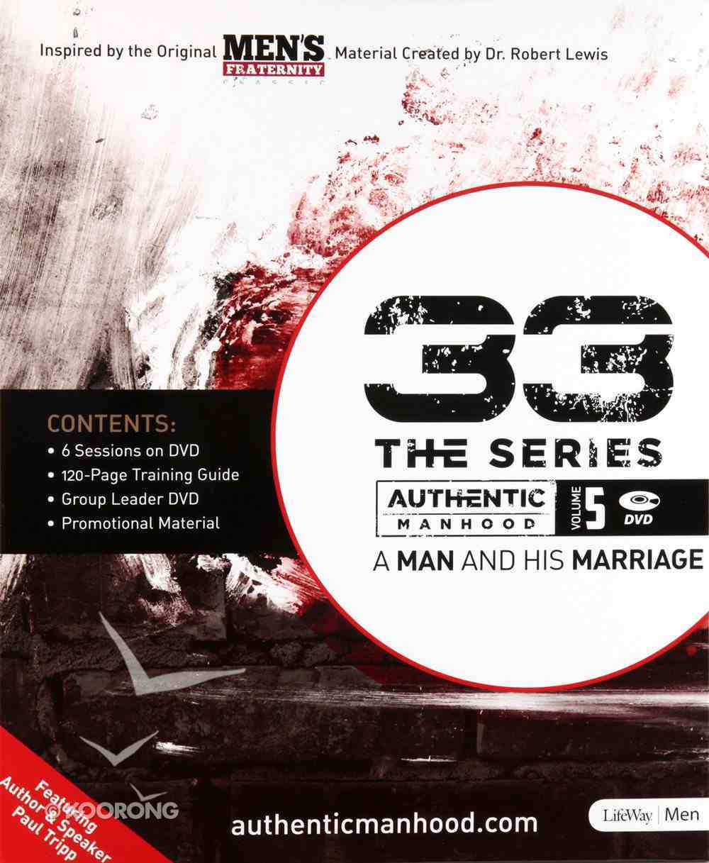 A Man and His Marriage (Leader Kit) (#05 in 33 The Series) Pack