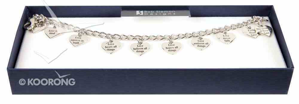 Bracelet: Love is (Rhodium Plated) Jewellery