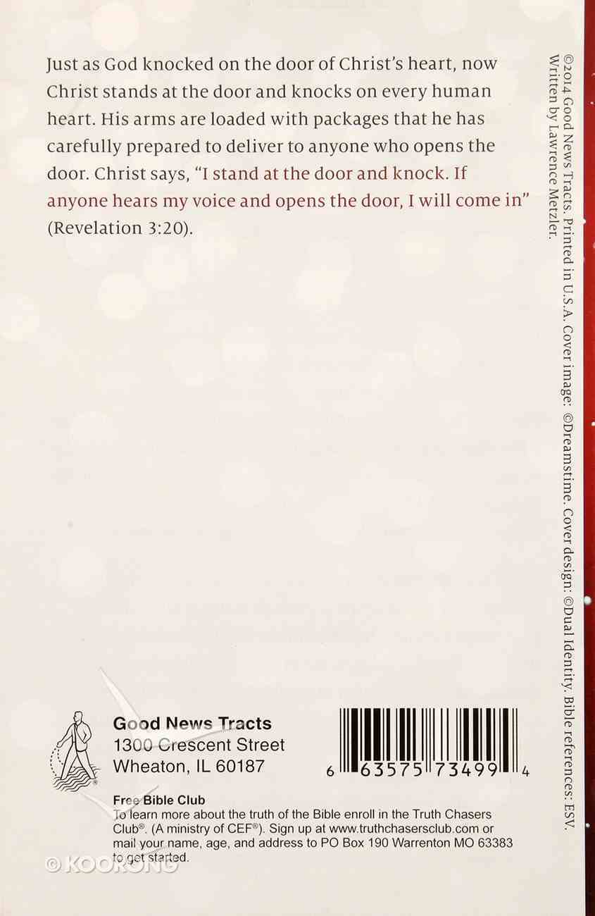 The Christmas Knock : Proclaiming the Gospel (Pack Of 25) Booklet