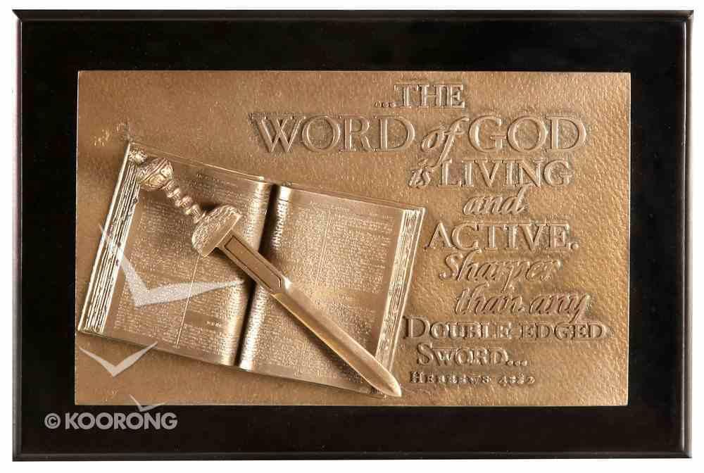 Moments of Faith Sculpture Box: Word of God (Hebrews 4:12) Homeware