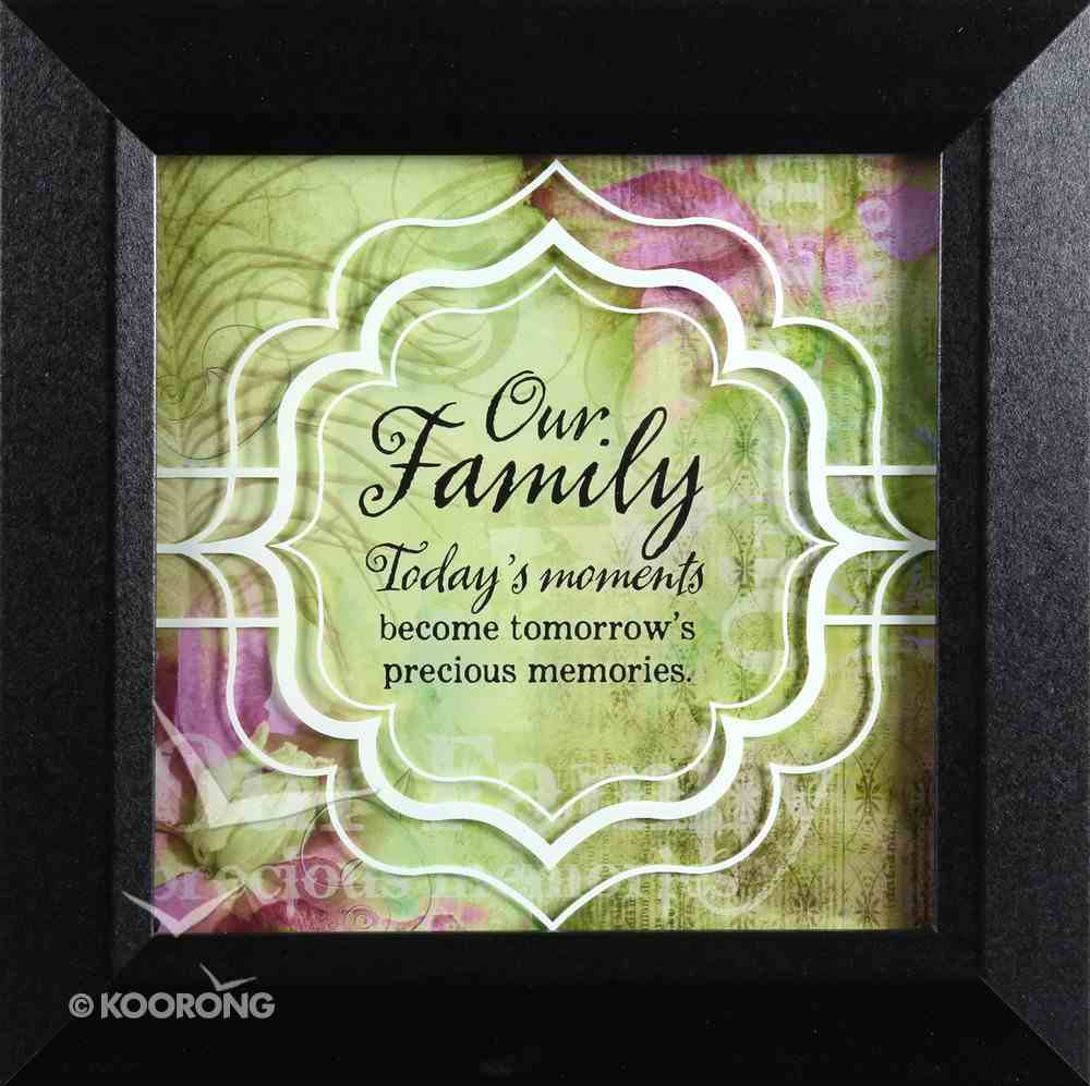 Truth Squared Plaque: Our Family Plaque