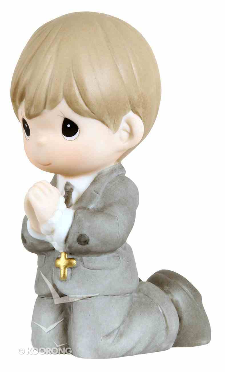 Precious Moments Figurine: Boy, Kneeling My First Holy Communion Homeware