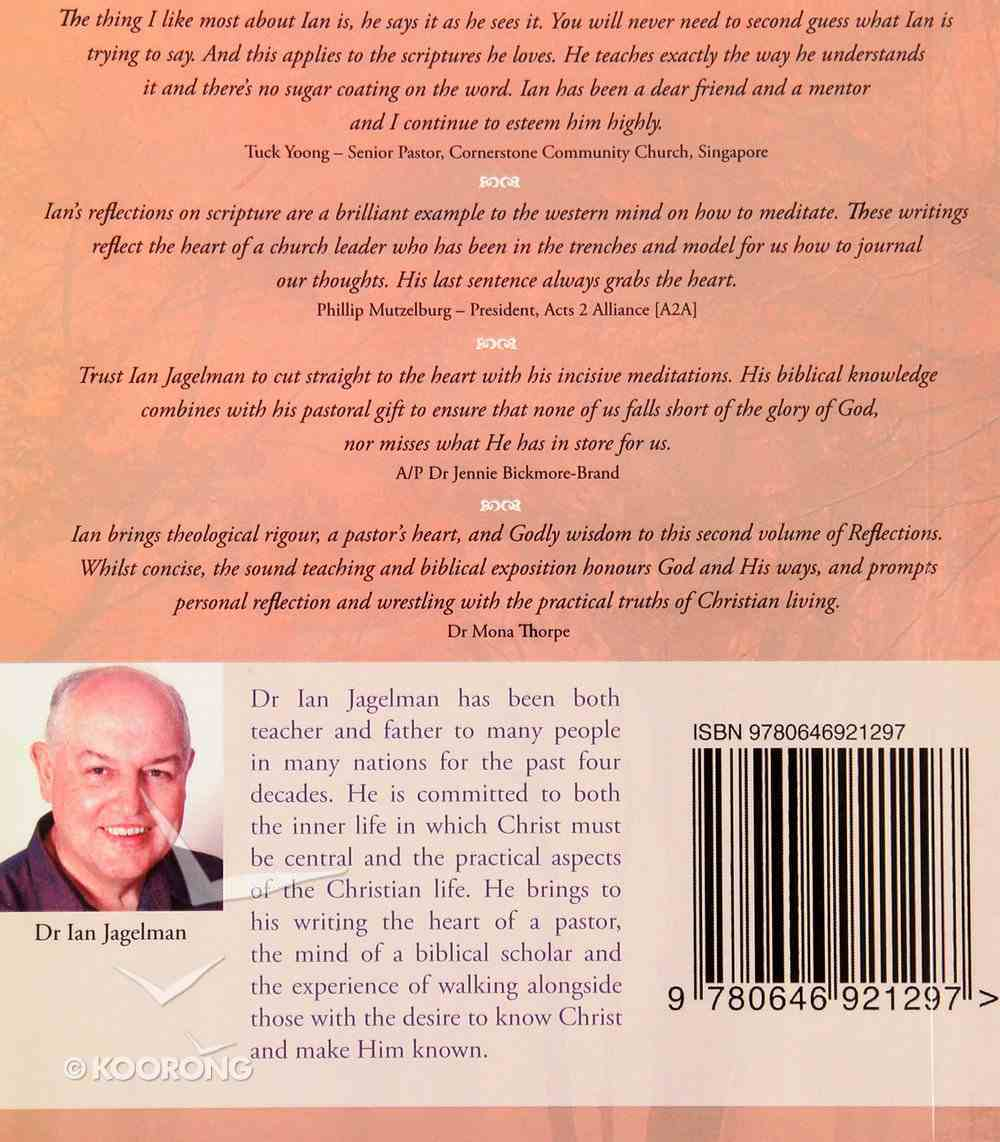 Reflections #02: Walking With Christ Paperback