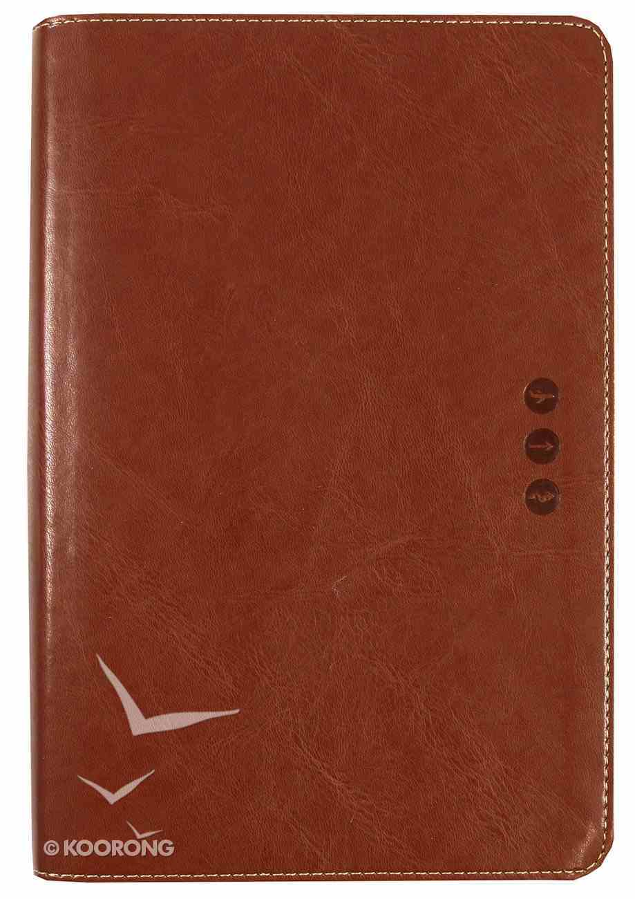 NLT Wayfinding Bible Brown (Black Letter Edition) Imitation Leather