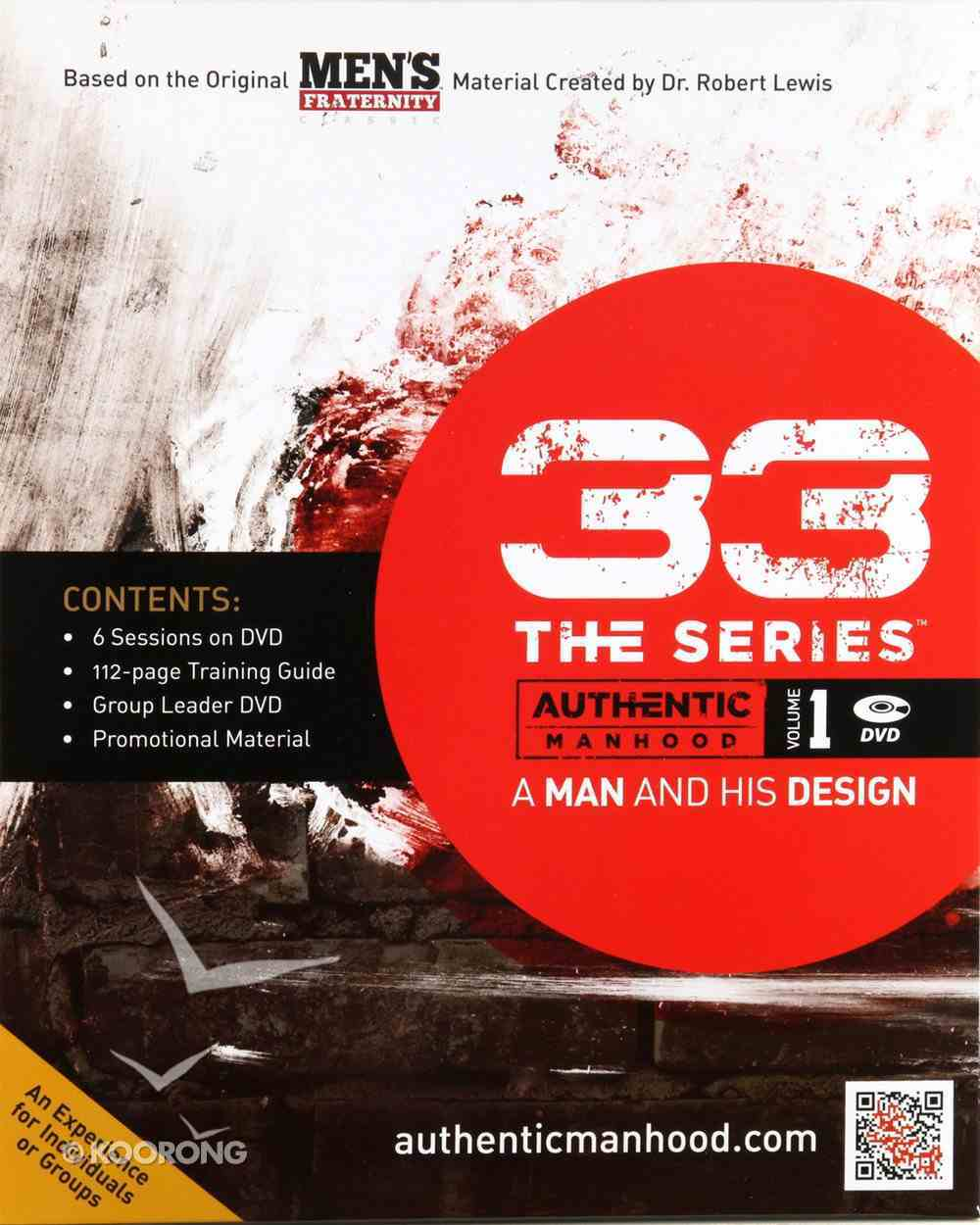 A Man and His Design (DVD Leader Kit) (#01 in 33 The Series) Pack