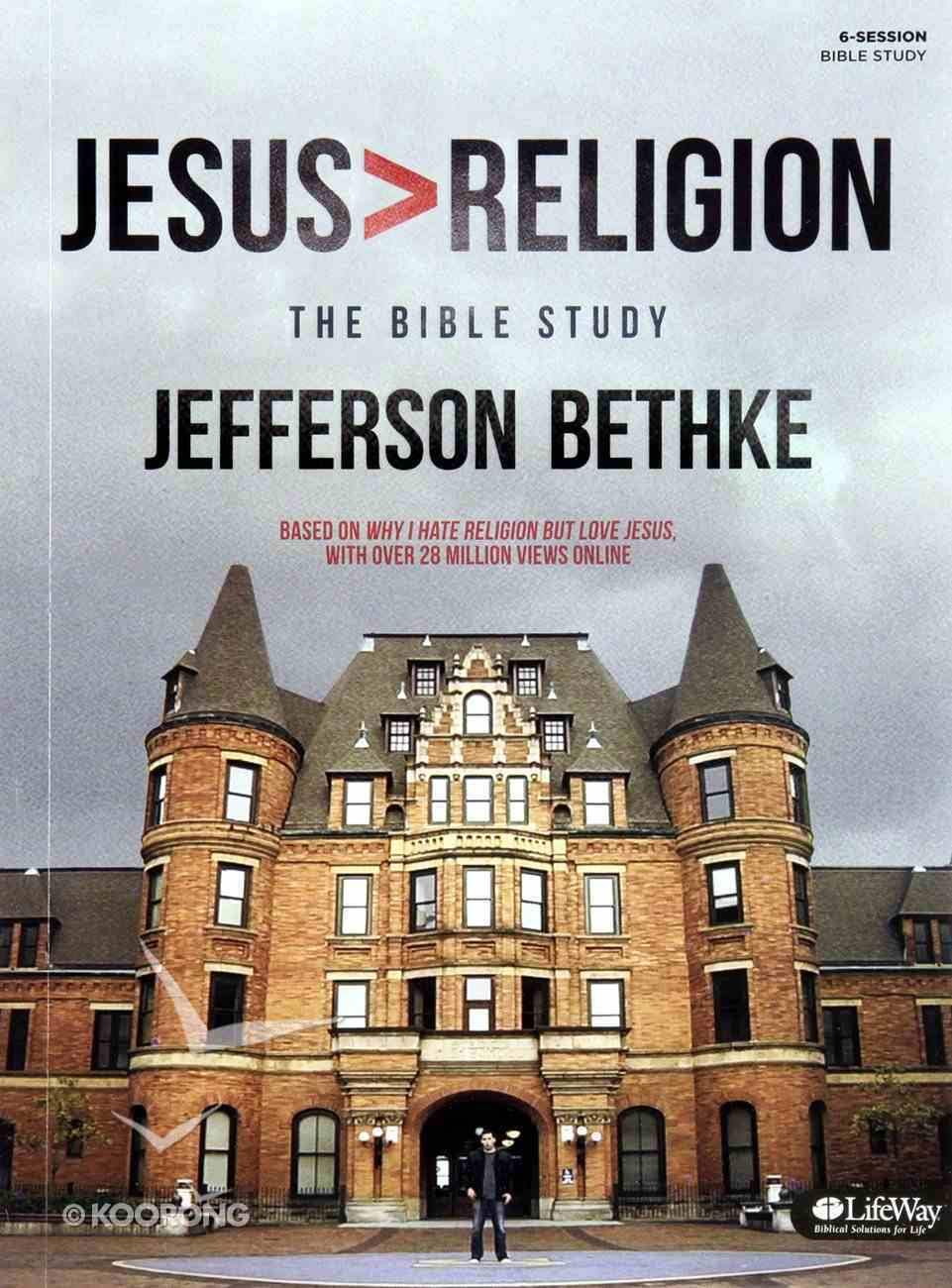 Jesus: Greater Than Religion (Study Journal) Paperback
