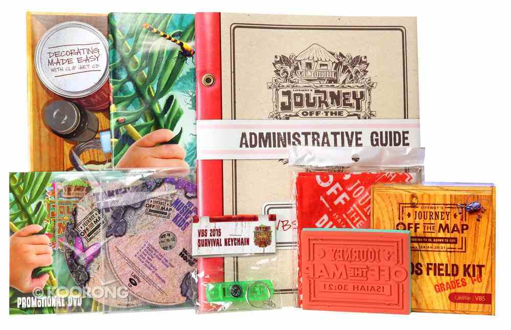 Vbs 2015 Journey Off the Map: Jump Start Kit Pack