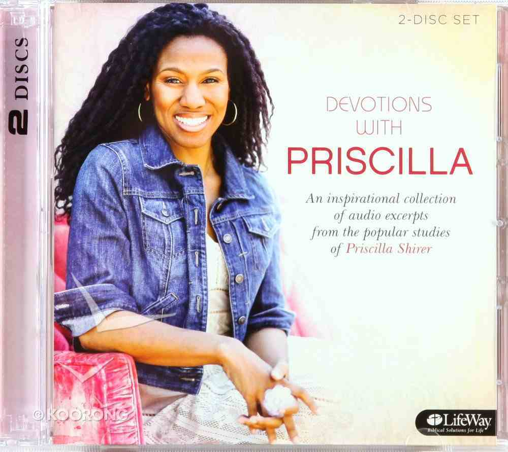 Devotions From Priscilla Shirer (2 Cds) CD