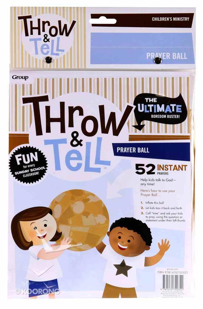 Throw & Tell Prayer Ball Novelty