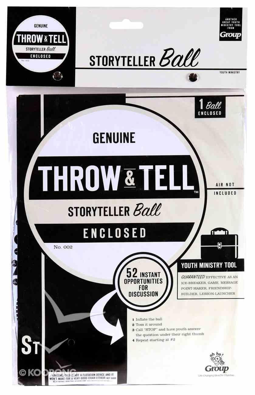 Throw & Tell Ball: Storytellers Novelty