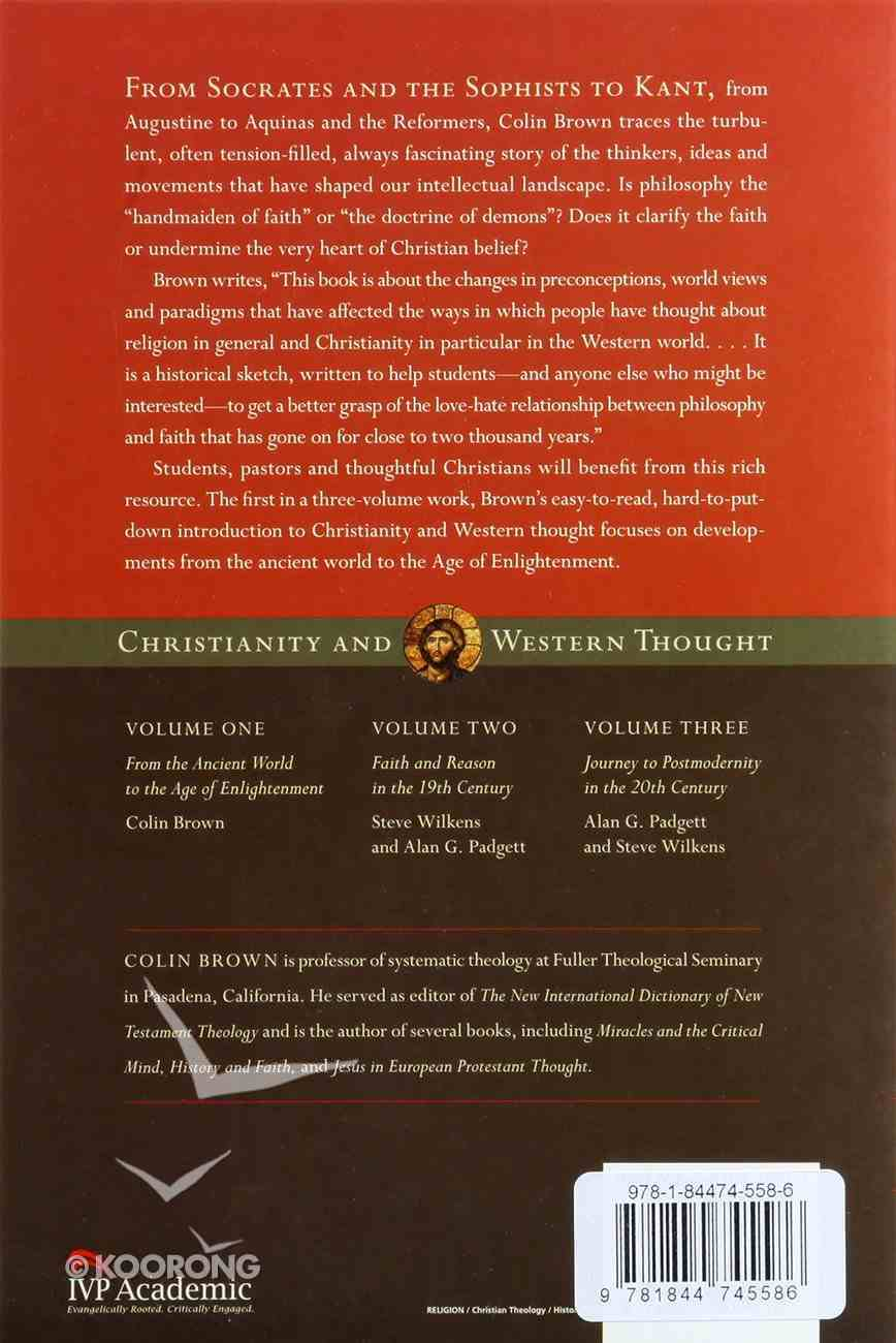 Christianity and Western Thought (Vol 1) Paperback