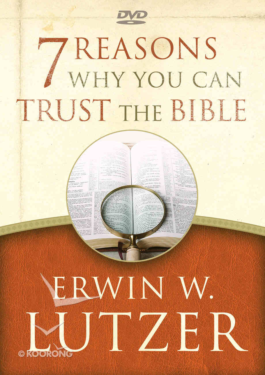 7 Reasons Why You Can Trust the Bible (Dvd) DVD