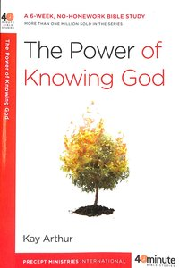 Product: Experiencing The Character Of God Image