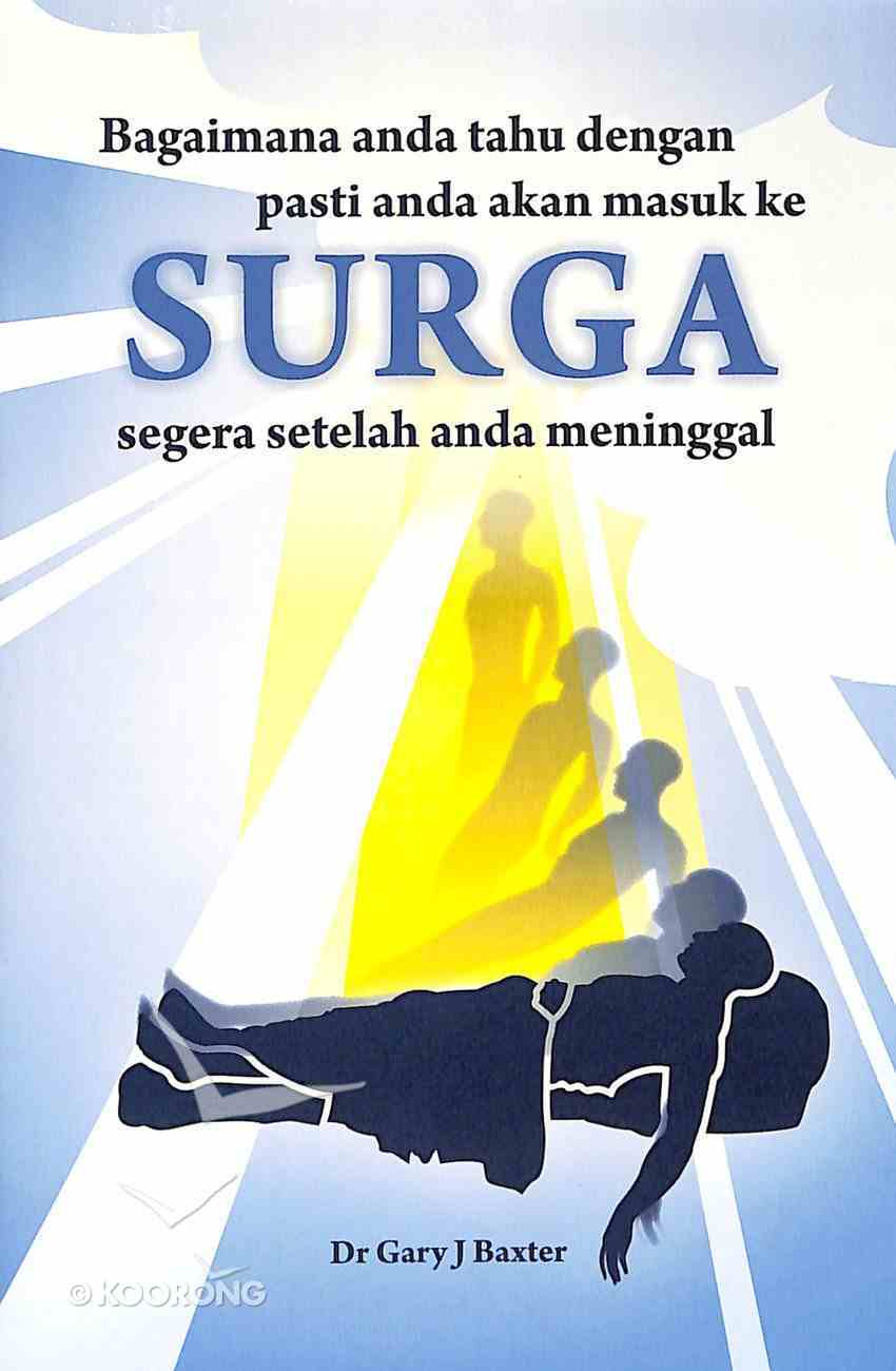 Indonesian: How Can You Be Certain of Going to Heaven Immediately After You Die? Booklet