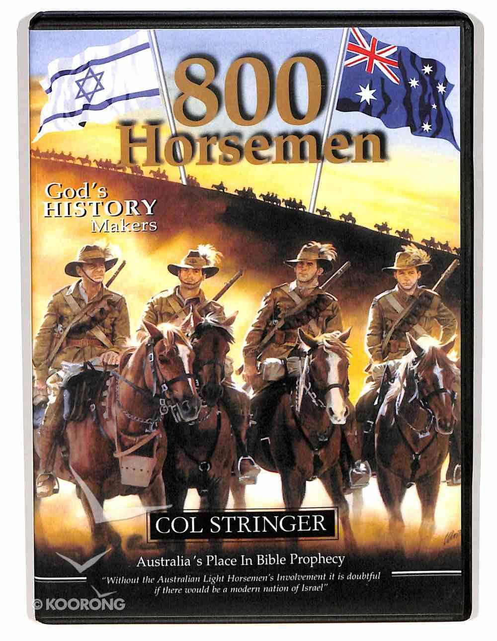 800 Horsemen Book and DVD Pack Pack