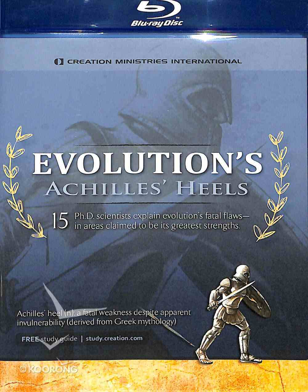 Evolution's Achilles' Heels (Blu-ray) Blu-ray Disc