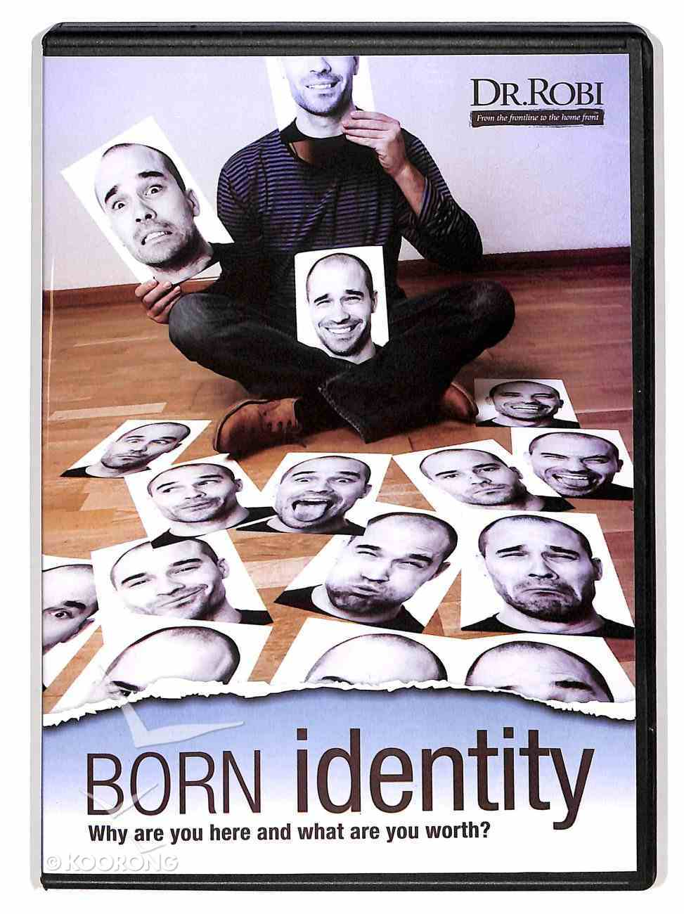 Born Identity DVD
