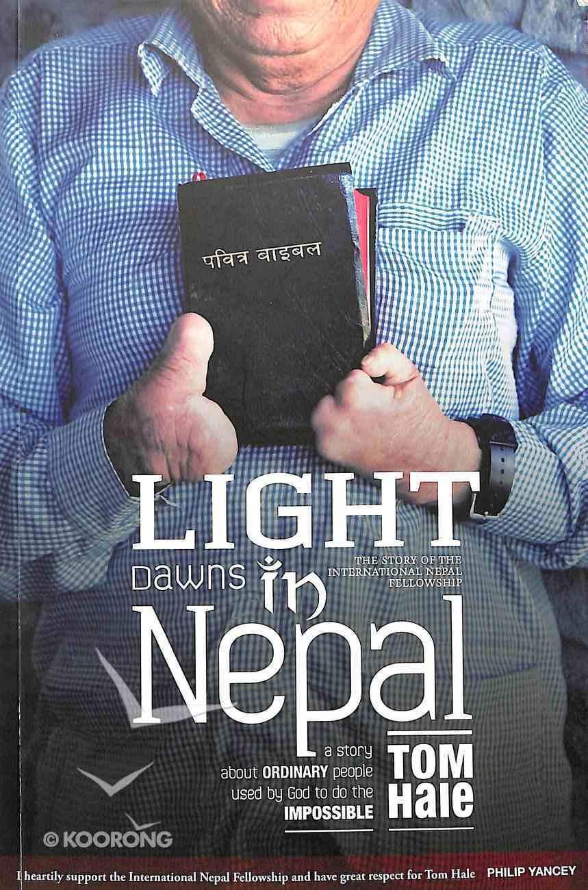 Light Dawns in Nepal Paperback