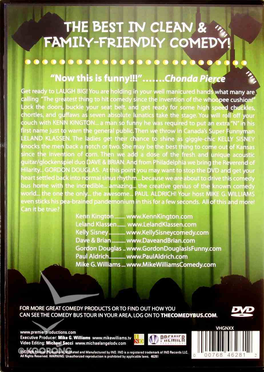 Cracked Up (Comedy Bus Dvd Series) DVD