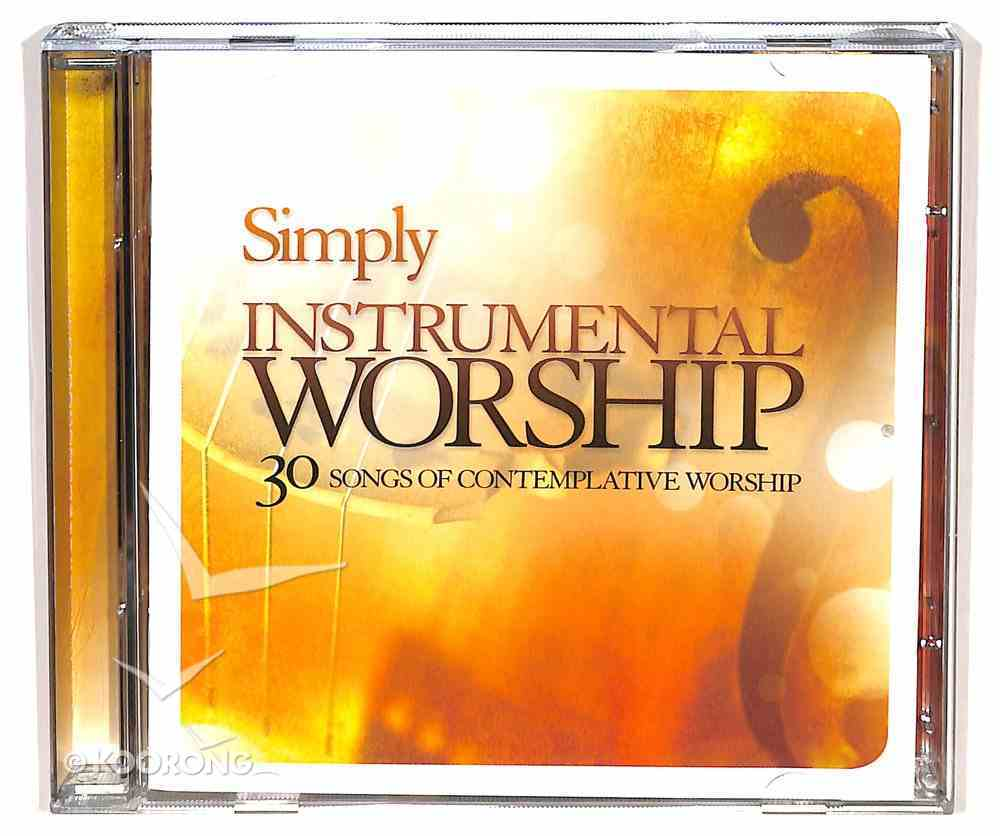 Simply Instrumental Worship Double CD CD